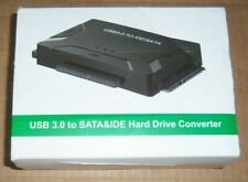 EYOOLD USB 3.0 TO SATA & IDE CONVERTER HARD DRIVE ADAPTER WITH POWER SWITCH nib