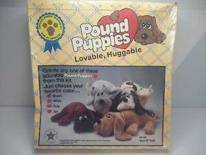 Vintage SEALED 1985 Tonka Pound Puppies MAKE YOUR OWN Nostalgia Toy Brown Dog