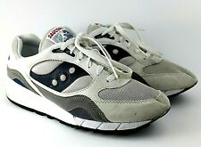 VTG Saucony Shadow 6000 Sneakers Shoes Mens 10 White Blue Gray Running  44690-1