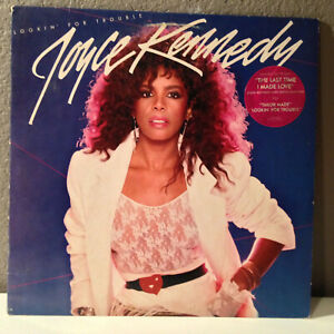 """JOYCE KENNEDY - Lookin' For Trouble - 12"""" Vinyl Record LP - EX (Cheesecake)"""