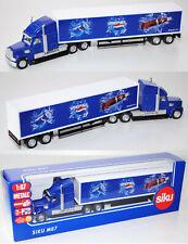 Siku Super 1834 US-Truck Koffersattelauflieger blau/weiß/schwarz, PEPSI, 1:87