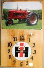 Farmall Super M Clock