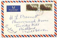 SS231 1972 *PORT STANLEY FALKLAND ISLANDS* Devon Cover {samwells-covers}PTS