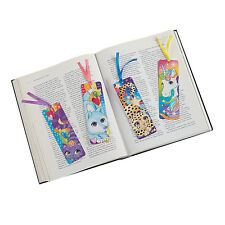 UNICORN PARTY Fantasy Laminated Bookmark Bookmarks Pack of 4 Free Postage