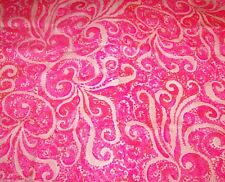 Lilly Pulitzer Fabric*Pbj Jellyfish*Pinks White*Dobby Cotton*Jellyfish*17X17