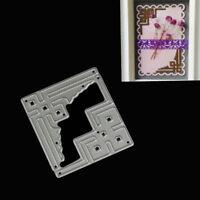 Cards Corner Metal Cutting Dies for DIY Scrapbooking/album Decor Embossing FLA