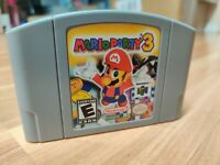 Mario Party 3 Video Game Cartridge  Card US Version For Nintendo N64 Free Ship
