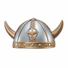 Viking Helmet Small Ancient Scandinavian Swedish Danish Fancy Dress Accessory Ne