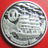 "ND (2008) COOK ISLANDS $5 SILVER PROOF ""SEDOV"" 4-MASTED BARQUE RUSSIAN TALL SHIP"