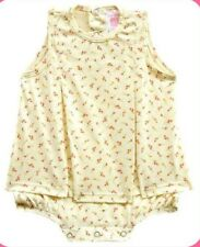 Carter's Yellow Mini Flower Play Suit Dress-Romper Infant/Baby Girl Clothes, 6M