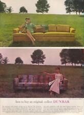 1962 Dunbar PRINT AD Features: The Noble Sofa & The Sofa Classic Great detailed