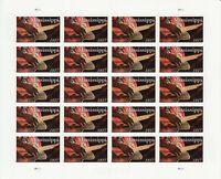 Mississippi Statehood Sheet of Twenty Forever Postage Stamps Scott 5190