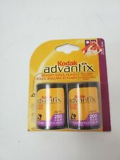 Sealed Kodak Advantix 2 Pack Aps Color Print Film 200. Expired 06/2004