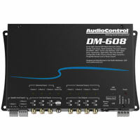 AudioControl DM-608 Premium Car Audio 6 Input 8 Output DSP Matrix Processor