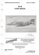 RF-4E Flight Manual F-4 Phantom II Pilot's Operating Instructions - CD Version