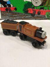 Thomas The Train Wooden Railway DUKE & DUKE'S TENDER learning Curve 2003
