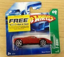 Hot Wheels Treasure Hunt -  Red Enzo Ferrari with black seats interior - MOC