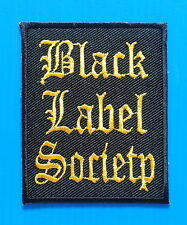 BLACK LABEL SOCIETY  HEAVY METAL Embrodered Iron Or Sewn On Patches Free Ship