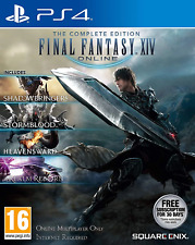Final Fantasy Xiv : The Complete Collection Ps4 (Sony PlayStation 4, 2010)