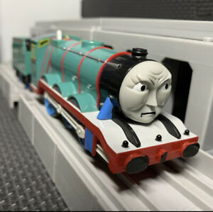 Thomas & Friends Powerful Gordon Angry Face Tomy Plarail Discontinued Motor Move