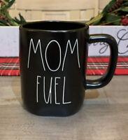 Rae Dunn By Magenta - LL MOM FUEL - BLACK Ceramic Coffee Mug