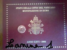 2 CENT DU COFFRET BU VATICAN 2004 (RARE)