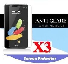3x Anti-Glare Matte Screen Protector Film Guard For LG Stylus DAB+