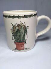 OTAGIRI Enesco Mary Hughes Corn Flower Pot Coffee Tea Cup Mug
