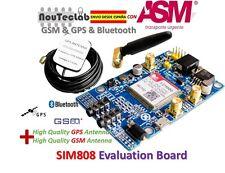 SIM808 Module GSM GPRS GPS Development Board IPX SMA with Antenna ENVIO RAPIDO