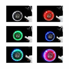 Universal DH Colorful LED Auto Car Solar Energy Flash Wheel Tire Light Lamp