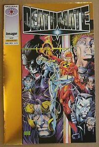 "**Deathmate: Prologue #1** RARE, GOLD ""VARIANT""!! JIM LEE! IMAGE & VALIANT!!"