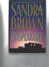 SANDRA BROWN - UNSPEAKABLE