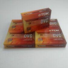 TDK Mini DVC Superior 60 Minutes New Sealed Digital Video Blank Cassette Tape