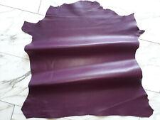 LEDER TIP 32827-D, Lederreste, 1 Lederhaut, violett nappa