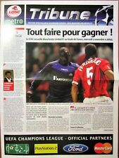 2005-06 Lille v Manchester United, Champions League, Mint
