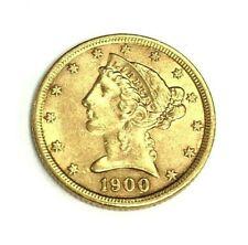 1900 Liberty Gold Half Eagle $5 Coin