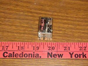 Potter & Brumfield R10-E1-L2-V185  Cradle Relay 12VDC
