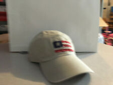 "Life Is Good Cap Hat US Flag Patch Boy Size Ivory  ""Buy 4 Get 1 Free"""