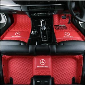 For Mercedes-Benz-A-B-C-E-S-G-Class Car Floor Mats-Right-hand drive