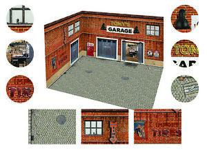 1:64, 1:43 Diecast diorama, photobox, garage
