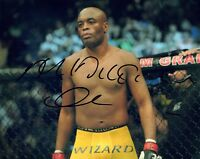 Anderson Silva Signed Autographed 8x10 Photo UFC MMA Fighter COA