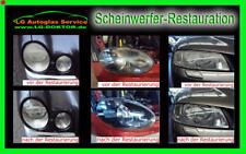 Alle Audi Scheinwerfer !! Restauration (polieren) der linke und rechte Seite