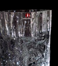 "70s Iittala ""Pinus"" VETRO VASO Tapio Wirkkala GLASS H 17 cm verres ANNEES 70"