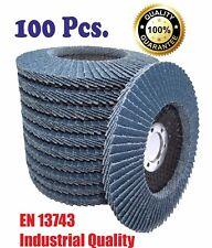 100pcs. Feroflex Pro Premium Zirconia Flap Disc 125mm T29 type Grit 40