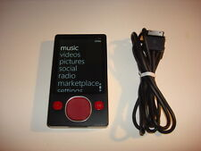 Microsoft Zune CustOm Black/Red 80Gb.New Hard Drive.