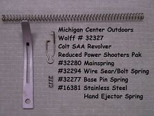 Wolff REDUCED POWER SPRING KIT for COLT Single Action Army Revolver  W32327 USA