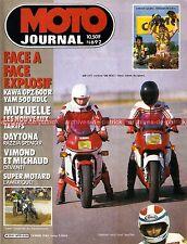MOTO JOURNAL  692 YAMAHA 500 RDLC RD LC KAWASAKI GPZ 600 R MONTESA DAYTONA 1985