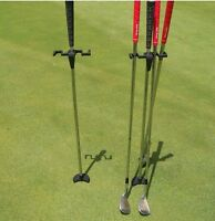 The Golf Butler Buddy Club Dry Grip Stick Irons Putter Holder Stand Caddy Gift