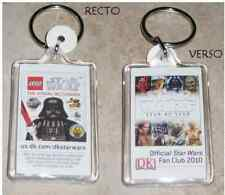 Star Wars Porte Cles officiel Fan Club Star Wars Lego keychain SDCC 2010