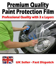 1520mm x 600mm Clear Transparent Car Paint Protection Film Vinyl Wrap. 3x Layers